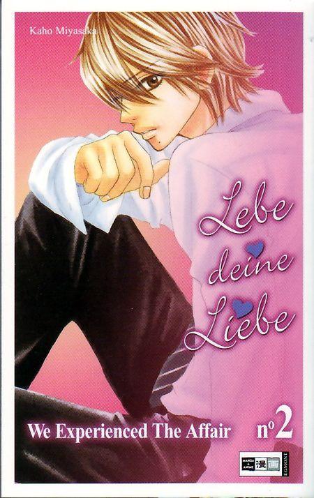 Lebe deine Liebe - We experienced the affair 2 - Das Cover