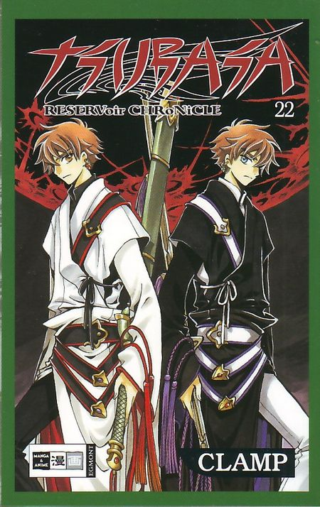 Tsubasa RESERVoir CHRoNiCLE 22 - Das Cover