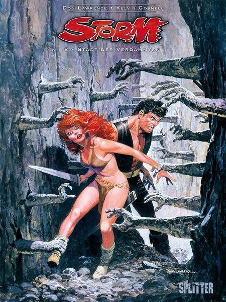 Storm 8: Stadt der Verdammten - Das Cover