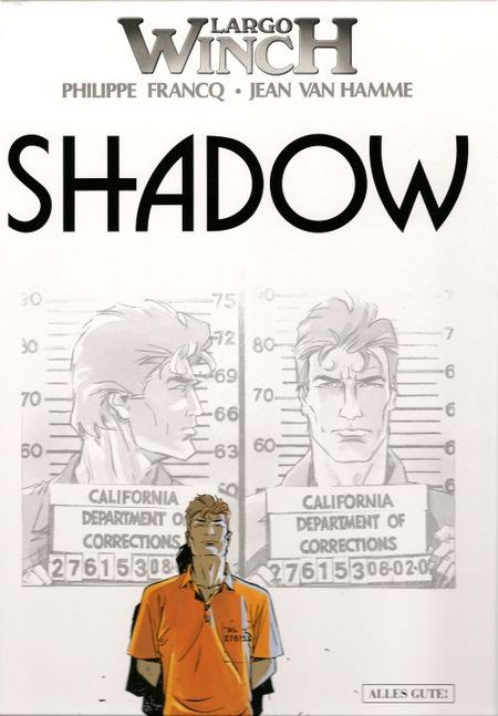Largo Winch 12: Shadow - Das Cover
