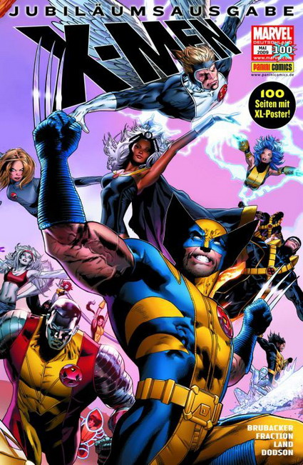 X-Men 100 - Das Cover