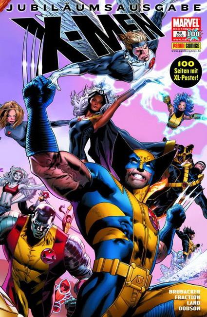 X-Men 100 - Das Cover