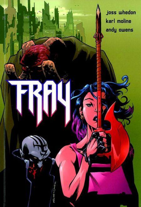 Fray - Future Slayer - Das Cover