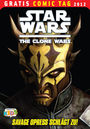 Star Wars - The Clone Wars - Gratis Comic Tag 2012