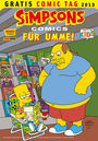 Gratis Comic Tag 2013: Simpsons Comics für Umme