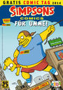 Simpsons Comics für umme - Gratis Comic Tag 2014