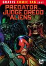 Predator vs. Judge Dredd vs. Aliens - Gratis Comic Tag 2017