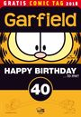 Garfield: Happy Birthday to me ? Gratis Comic Tag 2018
