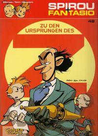 Spirou & Fantasio 48: Zu den Ursprüngen des Z - Klickt hier für die große Abbildung zur Rezension