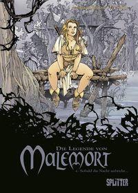 Die Legende von Malemort 4: Sobald die Nacht anbricht ... - Klickt hier für die große Abbildung zur Rezension