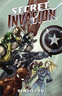 Secret Invasion Paperback - Klickt hier für die große Abbildung zur Rezension