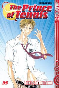 The Prince of Tennis 35 - Klickt hier für die große Abbildung zur Rezension