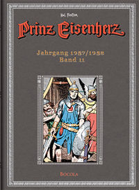 Prinz Eisenherz Hal Foster Gesamtausgabe 11 - Klickt hier für die große Abbildung zur Rezension