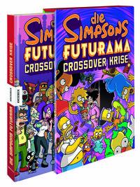 Die Simpsons Futurama Crossover Krise - Klickt hier für die große Abbildung zur Rezension