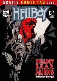 Hellboy / B.U.A.P. / Aliens - Gratis Comic Tag 2010 - Klickt hier für die große Abbildung zur Rezension