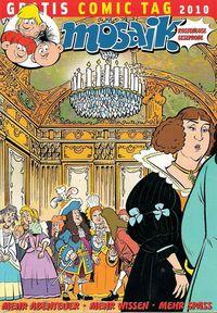 MOSAIK - Gratis Comic Tag 2010 - Klickt hier für die große Abbildung zur Rezension
