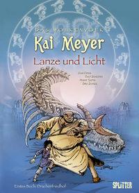 Das Wolkenvolk 3: Lanze und Licht - Erstes Buch - Drachenfriedhof - Klickt hier für die große Abbildung zur Rezension