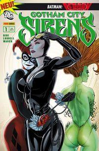 Gotham City Sirens 1: Vereint - Klickt hier für die große Abbildung zur Rezension