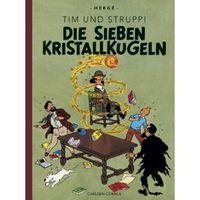 Tim & Struppi Farbfaksimile 12: Die sieben Kristallkugeln - Klickt hier für die große Abbildung zur Rezension