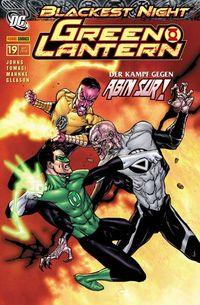 Green Lantern Sonderband 19: Blackest Night 2 - Klickt hier für die große Abbildung zur Rezension