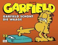Garfield 22: Garfield schont die Waage - Klickt hier für die große Abbildung zur Rezension