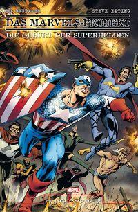 Marvel Exklusiv 89: Das Marvels-Projekt - Die Geburt der Superhelden - Klickt hier für die große Abbildung zur Rezension