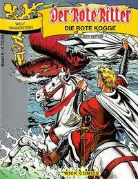 Der Rote Ritter Silber-Edition 9: Die rote Kogge - Klickt hier für die große Abbildung zur Rezension