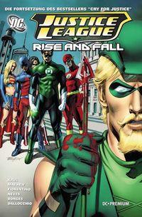 DC Premium 71: Justice League - Rise and Fall - Klickt hier für die große Abbildung zur Rezension