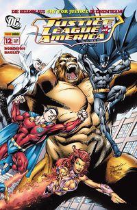 Justice League of America 12: Teamwork - Klickt hier für die große Abbildung zur Rezension
