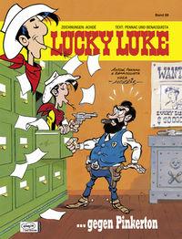 Lucky Luke 88: Lucky Luke gegen Pinkerton - Klickt hier für die große Abbildung zur Rezension