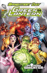 Green Lantern Sonderband 22: Die neuen Wächter - Klickt hier für die große Abbildung zur Rezension