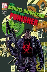 Das Marvel-Universum gegen den Punisher - Klickt hier für die große Abbildung zur Rezension