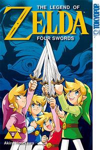 The Legend of Zelda - Four Swords 2 - Klickt hier für die große Abbildung zur Rezension