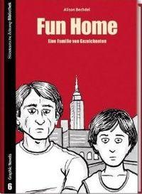 SZ Bibliothek Graphic Novels 6: Fun Home - Klickt hier für die große Abbildung zur Rezension