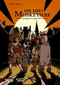 Die drei Musketiere und D`Artagnan - Klickt hier für die große Abbildung zur Rezension
