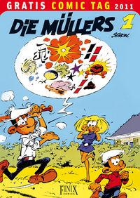 Die Müllers 1 - Gratis Comic Tag 2011 - Klickt hier für die große Abbildung zur Rezension