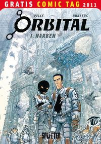 Orbital 1: Narben – Gratis Comic Tag 2011 - Klickt hier für die große Abbildung zur Rezension