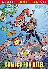 Comics für Alle – ICOM-Anthologie – Gratis Comic Tag 2011 - Klickt hier für die große Abbildung zur Rezension