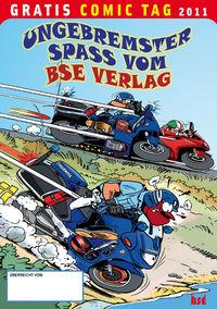 Ungebremster Spass vom BSE Verlag - Gratis Comic Tag 2011 - Klickt hier für die große Abbildung zur Rezension