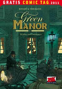 Green Manor 1: Mörder und Gentlemen - Gratis Comic Tag 2011 - Klickt hier für die große Abbildung zur Rezension