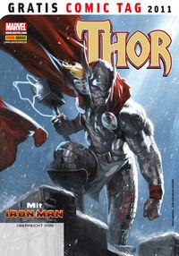 Thor mit Iron Man - Gratis Comic Tag 2011 - Klickt hier für die große Abbildung zur Rezension
