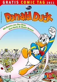 Donald Duck - Gratis Comic Tag 2011 - Klickt hier für die große Abbildung zur Rezension