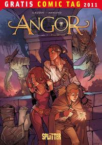 Angor 1 - Flucht - Gratis-Comic-Tag 2011 - Klickt hier für die große Abbildung zur Rezension