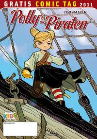 Polly und die Piraten - Gratis Comic Tag 2011 - Klickt hier für die große Abbildung zur Rezension