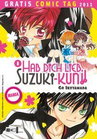 Hab Dich lieb, Suzuki-kun! - Gratis-Comic-Tag 2011 - Klickt hier für die große Abbildung zur Rezension