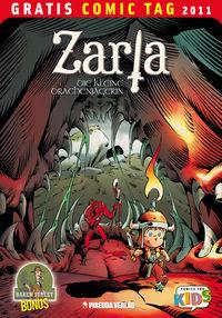 Zarla – Die kleine Drachenjägerin - Gratis Comic Tag 2011 - Klickt hier für die große Abbildung zur Rezension