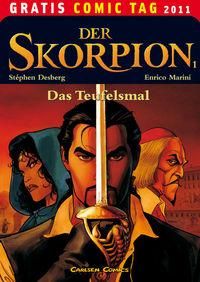 Der Skorpion 1: Das Teufelsmal - Gratis Comic Tag 2011 - Klickt hier für die große Abbildung zur Rezension