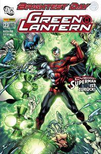 Green Lantern Sonderband 23: Aufstand der Alpha-Lanterns - Klickt hier für die große Abbildung zur Rezension