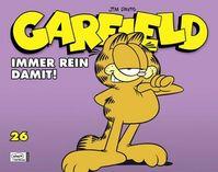 Garfield 26: Immer rein damit! - Klickt hier für die große Abbildung zur Rezension