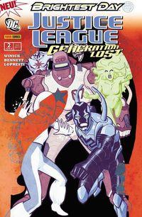 Justice League: Generation Lost 2 - Klickt hier für die große Abbildung zur Rezension